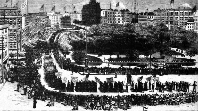Η γέννηση της Εργατικής Πρωτομαγιάς στο Σικάγο του 1882 | to10.gr