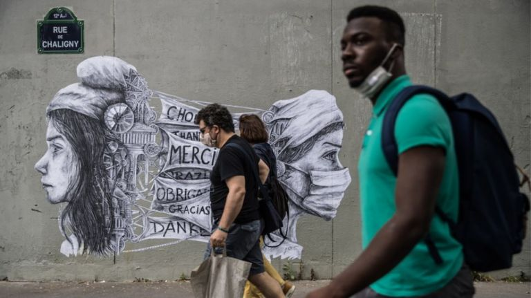 Γαλλία : Ρεκόρ θανάτων, ενώ καταρρέουν οι ΜΕΘ – Σενάρια για lockdown ενός μήνα | to10.gr