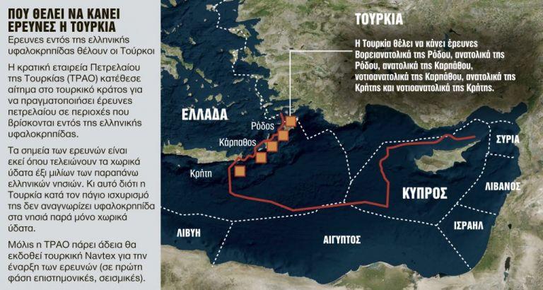 Ελληνοτουρκική κρίση: Γιατί ανησυχούν στην Αθήνα με τις τουρκικές απειλές περί ερευνών στη Μεσόγειο | to10.gr
