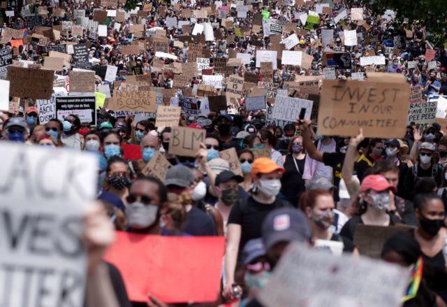 Τζορτζ Φλόιντ: Ακόμα μια μέρα μαζικών διαδηλώσεων – «Πλημμύρισε» η Ουάσινγκτον | to10.gr