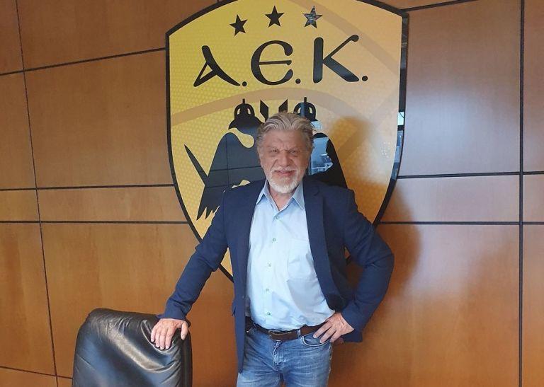 ΑΕΚ: Επισκέφθηκε τα γραφεία της ο Γιάννης Βούρος (pics)   to10.gr