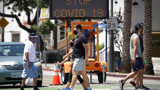 Ο κορωνοϊός επιτίθεται στην Καλιφόρνια : Επιστρέφουν τα μέτρα – Κλείνουν καταστήματα, εκκλησίες | to10.gr