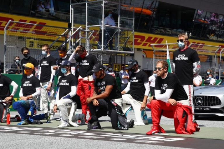 Το μήνυμα των πιλότων της Formula 1 κατά του ρατσισμού (pic) | to10.gr