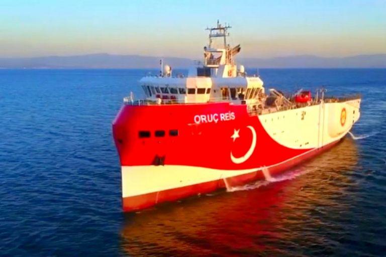 Oruc Reis : Μια ανάσα από τη Ρόδο το τουρκικό ερευνητικό | to10.gr