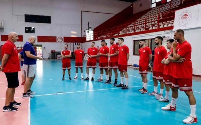 Ολυμπιακός : Υποβλήθηκε σε εργομετρικές εξετάσεις η ομάδα Χάντμπολ