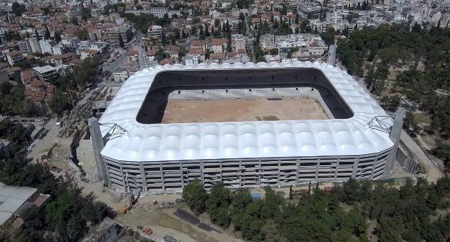 ΑΕΚ : Εντυπωσιακά πλάνα από την «Αγία Σοφιά» με drone (vids) | to10.gr