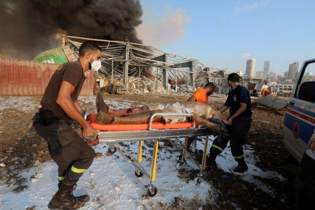 Βηρυτός όπως Χιροσίμα : Βάφτηκε με αίμα – Αυξάνεται συνεχώς ο αριθμός των νεκρών, χιλιάδες οι τραυματίες | to10.gr