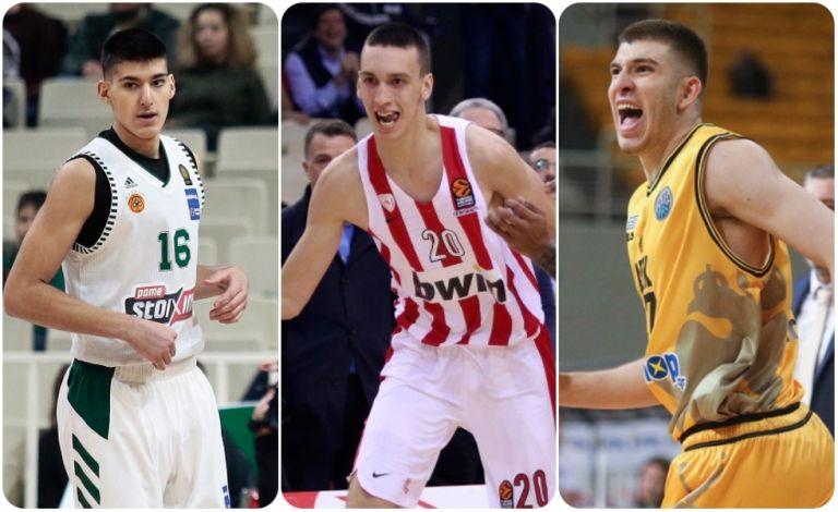 Στο draft του NBA Ποκουσέφκι, Καλαϊτζάκης, Ρογκαβόπουλος | to10.gr
