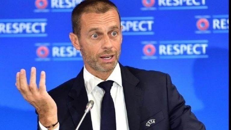 «Βόμβα» από τον πρόεδρο της UEFA : «Αποκλεισμός για όλους τους ποδοσφαιριστές που θελήσουν να αγωνιστούν στην ESL» (pics) | to10.gr