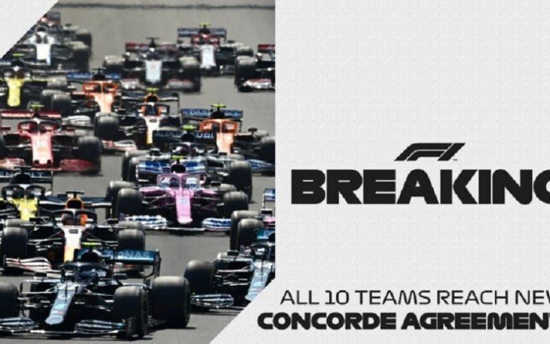 Formula 1 : Οι 10 ομάδες υπέγραψαν την συμφωνία «Concorde»