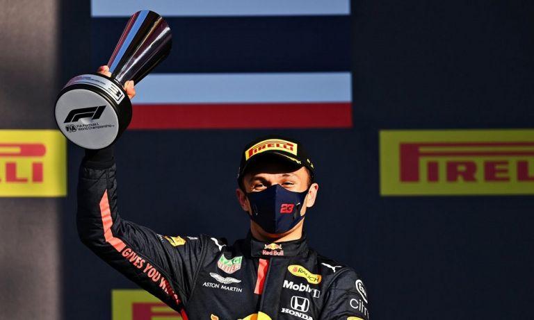 Άλμπον : «Είμαι χαρούμενος για την τρίτη θέση»   to10.gr