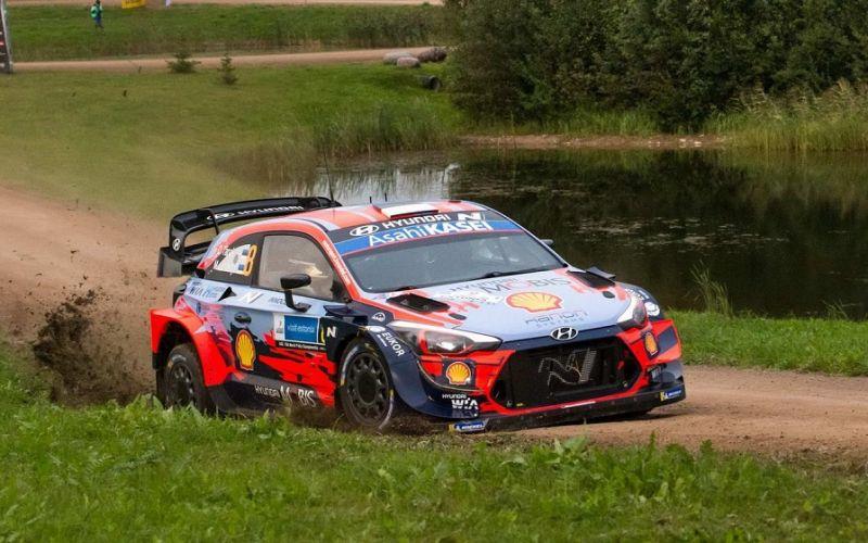 WRC : Πρώτος ο Τάνακ στο Ράλι Εσθονίας