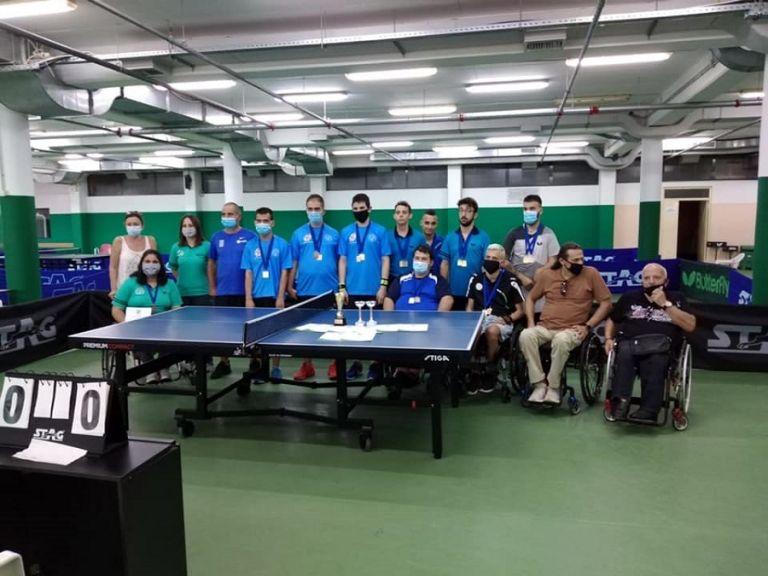 Πετυχημένο από κάθε άποψη το Πανελλήνιο πρωτάθλημα επιτραπέζιας αντισφαίρισης ατόμων με αναπηρίες | to10.gr