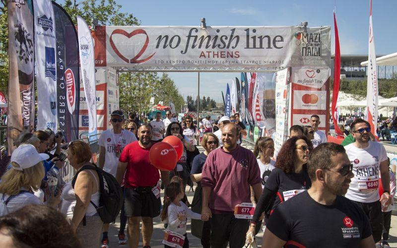 5ο No Finish Line Athens ραντεβού το Μάιο του 2021