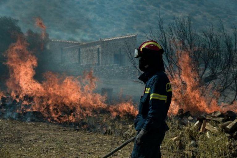 Νέες πυρκαγιές σε Μεσσηνία, Ηλεία και Άνδρο | to10.gr