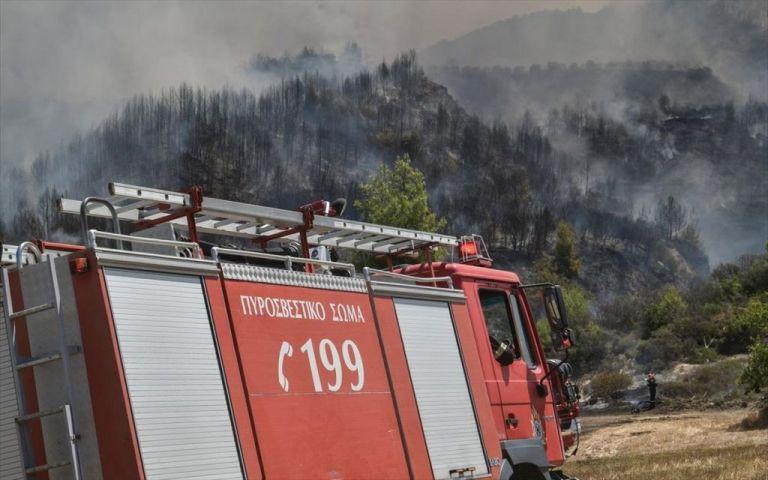 Φωτιά στο Δίστομο – Στη μάχη και εναέρια μέσα | to10.gr