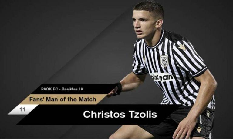 ΠΑΟΚ : Το βραβείο του MVP στον Τζόλη | to10.gr