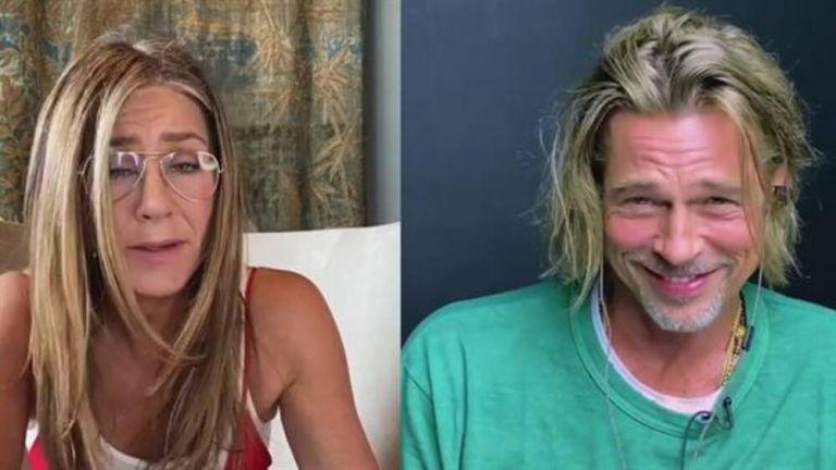 Άνιστον και Πιτ φλέρταραν on camera – «Νομίζω ότι είσαι πολύ σέξι» (vid) | to10.gr