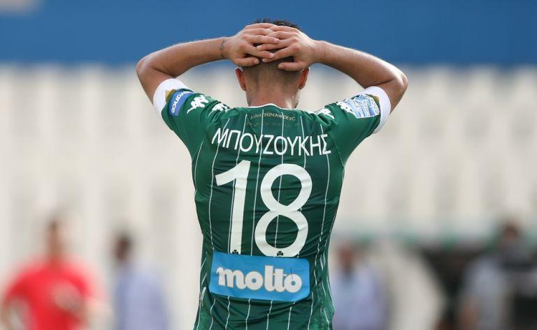 Παναθηναϊκός : Τραυματίστηκε ο Μπουζούκης, χάνει το ματς με Βόλο | to10.gr