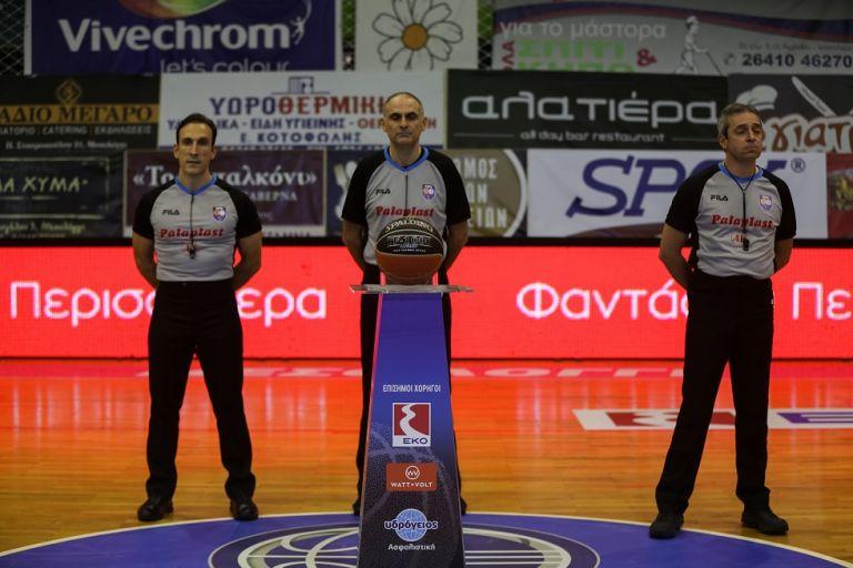 Οι διαιτητές της δεύτερης αγωνιστικής της Basket League | to10.gr
