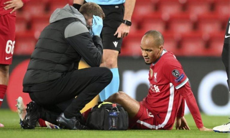 Νέο πρόβλημα για τη Λίβερπουλ : Τραυματίστηκε και ο Φαμπίνιο | to10.gr