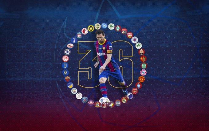 Λιονέλ Μέσι : Έχει σκοράρει κόντρα σε 36 ομάδες στο Champions League (pic)   to10.gr