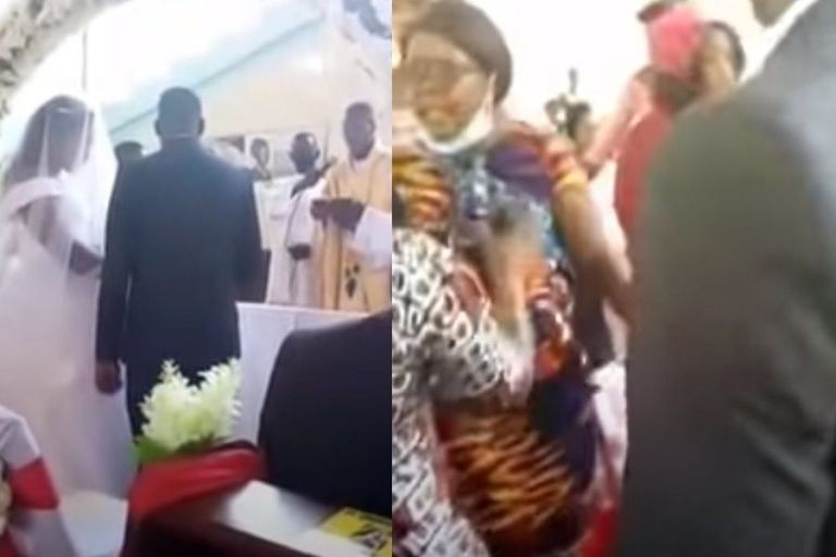 Χαμός : Γυναίκα μπούκαρε σε γάμο φωνάζοντας πως… ο γαμπρός ήταν ο σύζυγός της   to10.gr