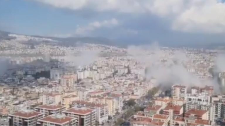 Βίντεο του σεισμού από την Τουρκία : Καταστροφές στη Σμύρνη   to10.gr