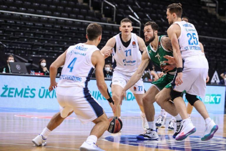 Ζαλγκίρις – Ζενίτ 75-83 : Ασταμάτητη η ομάδα του Πασκουάλ πέρασε και από το Κάουνας | to10.gr
