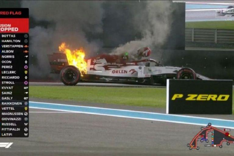 Ραϊκόνεν : Πήρε φωτιά η Alfa Romeo Racing στα FP2 (vids) | to10.gr