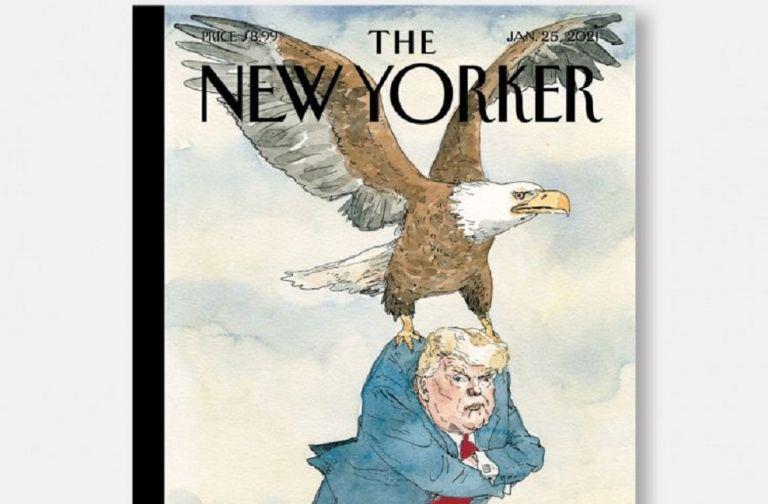 Το περιοδικό New Yorker αποχαιρετά τον Τραμπ με ένα καυστικό εξώφυλλο | to10.gr