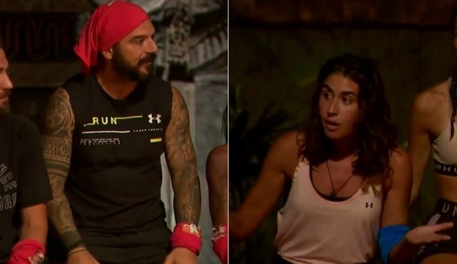Survivor 4 : Ο Τριαντάφυλλος «αδειάζει» Μαριπόζα και το twitter τον χειροκροτά (pics+vid) | to10.gr
