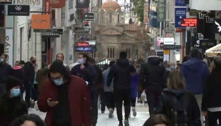 Lockdown : Ασύλληπτες εικόνες στο κέντρο της Αθήνας – Καταστηματάρχες… έδιωχναν πελάτες   to10.gr