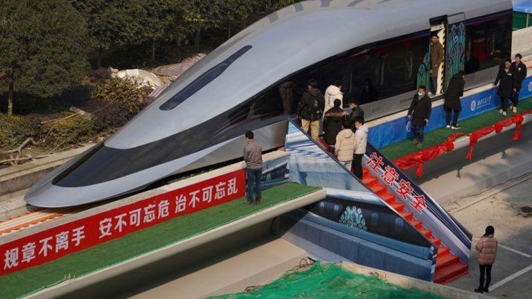 Κίνα : Το ταχύτερο τρένο του κόσμου θα πιάνει τα 620 χλμ/ώρα | to10.gr