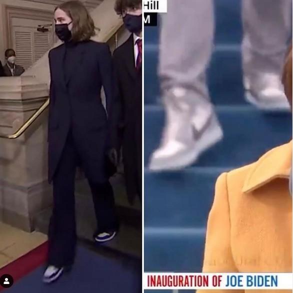 Ξεχάστε τα φορέματα, όλοι μιλούν για τα αθλητικά παπούτσια της εγγονής του Μπάιντεν | to10.gr