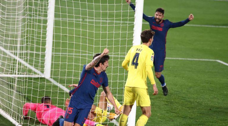 Βιγιαρεάλ – Ατλέτικο Μαδρίτης 0-2 | to10.gr