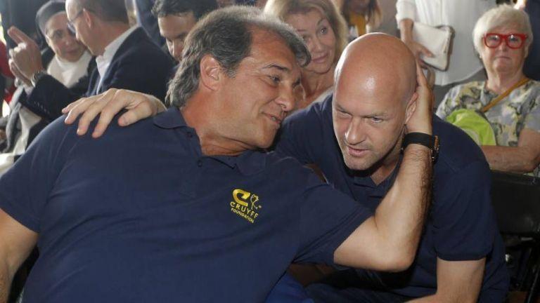 Μπαρτσελόνα – Ο Λαπόρτα προσπαθεί να δώσει τα «κλειδιά» στον Κρόιφ   to10.gr