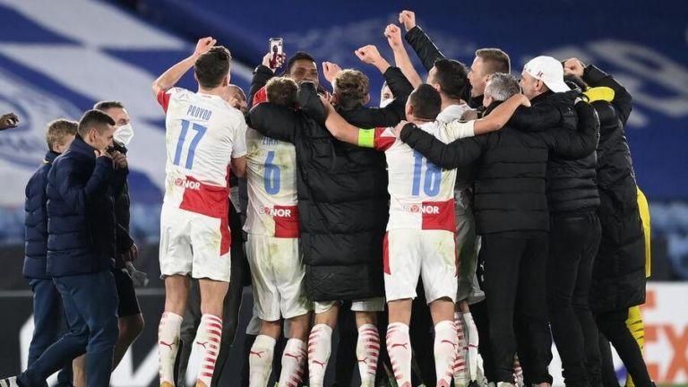 H Σλάβια Πράγας κέρδισε για πρώτη φορά εκτός έδρας αγγλική ομάδα | to10.gr
