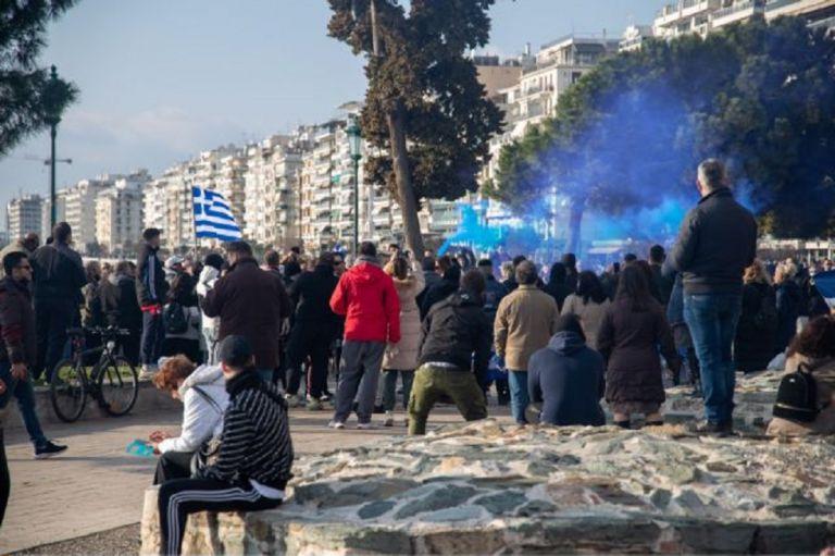 Θεσσαλονίκη : Διαμαρτυρία για τα μέτρα κατά της πανδημίας | to10.gr