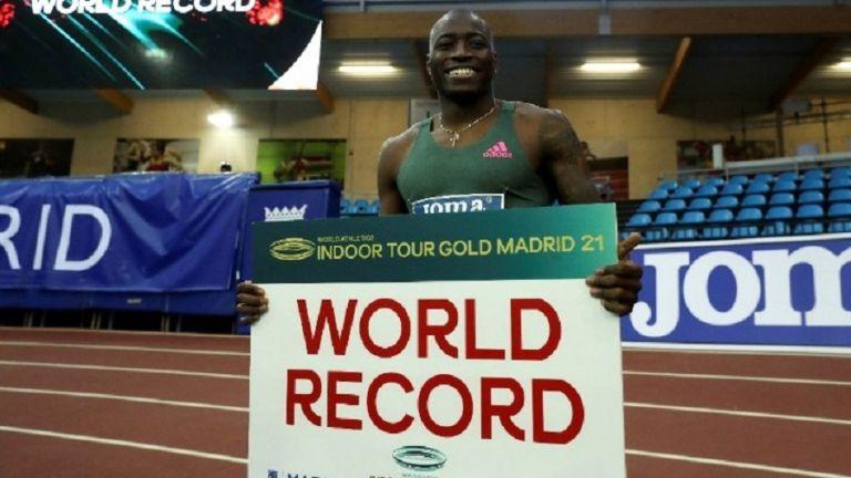 Παγκόσμιο ρεκόρ ο Χόλογουέϊ στα 60 μέτρα εμπόδια | to10.gr
