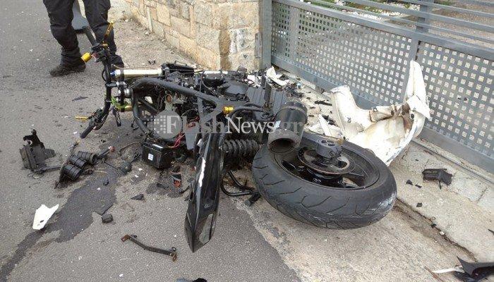 Σοκαριστικό τροχαίο στα Χανιά : Νεκρός 27χρονος δικυκλιστής | to10.gr