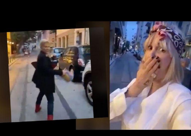 Νατάσα Καλογρίδη – Χρύσα Ρώπα: Επικό βίντεο στο Κολωνάκι «Σε σιχαίνομαι μωρή πουτ@ν@» | to10.gr