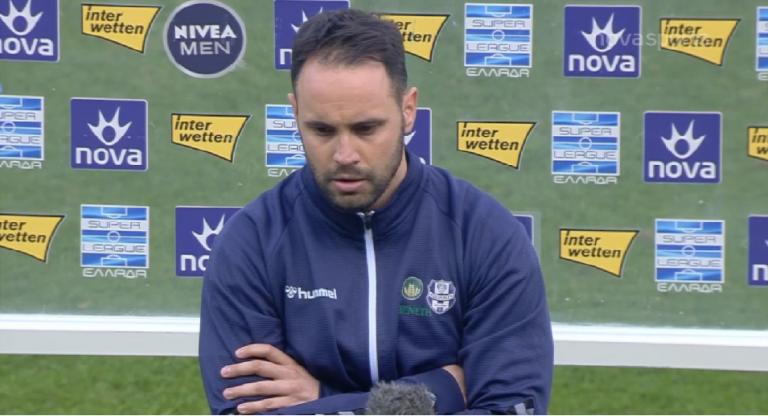 Αντωνόπουλος : «Το παιχνίδι ήταν ισορροπημένο αλλά το αποτέλεσμα μας αδικεί» | to10.gr