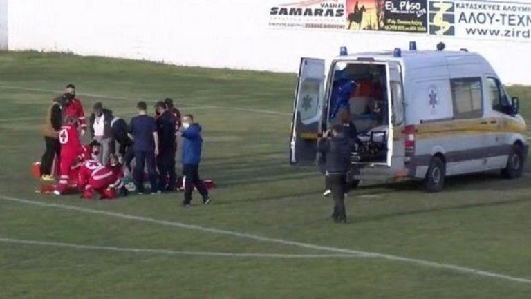 Παίκτης στη Γ' Εθνική τραυματίστηκε στο κεφάλι και το ασθενοφόρο έφτασε μετά από 40 λεπτά! (vid)   to10.gr