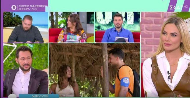 Survivor : Η αποστομωτική απάντηση του Καλίδη όταν ρωτήθηκε για τη σχέση Σάκη – Μαριαλένας | to10.gr