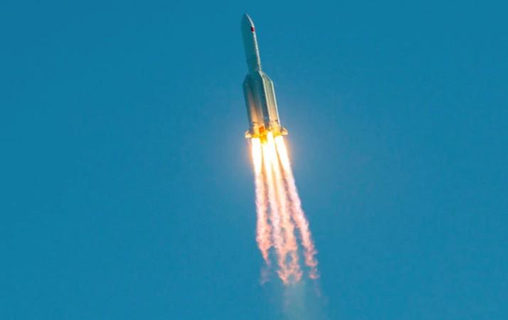 Κινέζικος πύραυλος: Η στιγμή της πτώσης | to10.gr