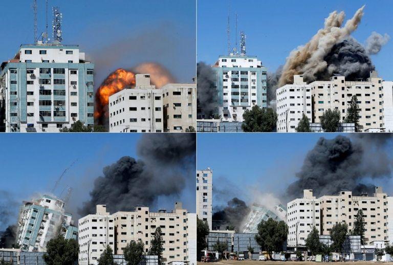 Γάζα: Δημοσιογράφοι του Associated Press τρέχουν να εκκενώσουν το κτίριο πριν βομβαρδιστεί   to10.gr