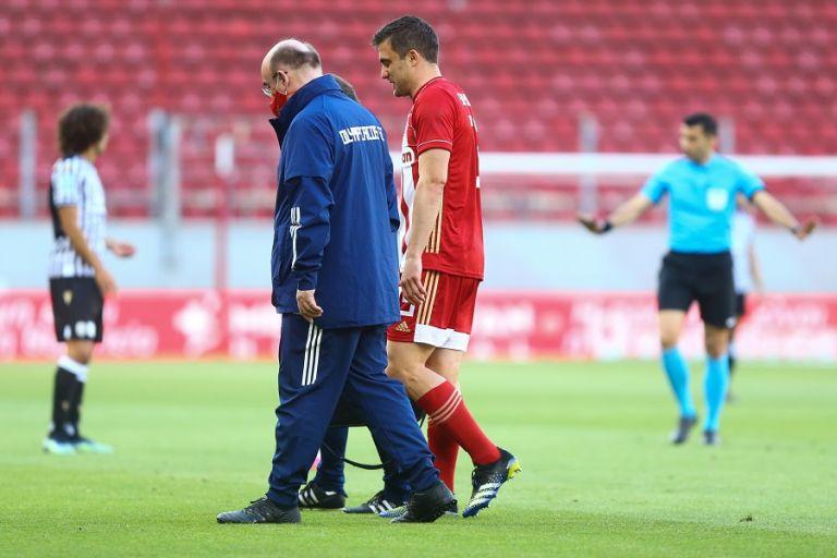 Ολυμπιακός: Η πρώτη εκτίμηση για τον τραυματισμό του Σωκράτη   to10.gr
