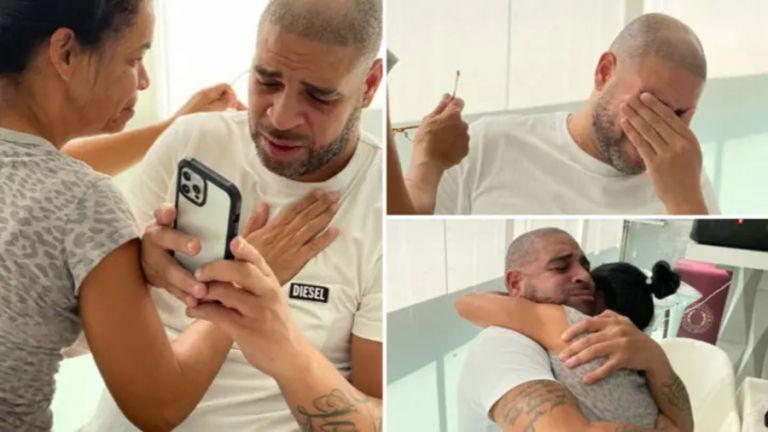 Ο Αντριάνο μπήκε στο Wall of Fame του Μαρακανά και… έβαλε τα κλάματα (pic) | to10.gr