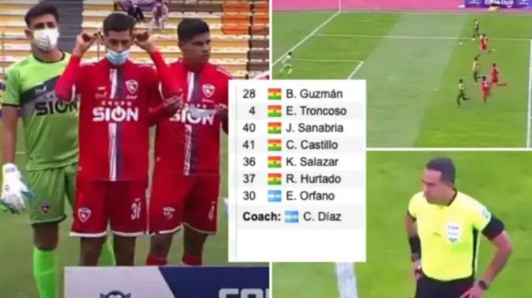 Βολιβία: Ομάδα αναγκάστηκε να παίξει με 7 παίκτες (vid & pic)   to10.gr